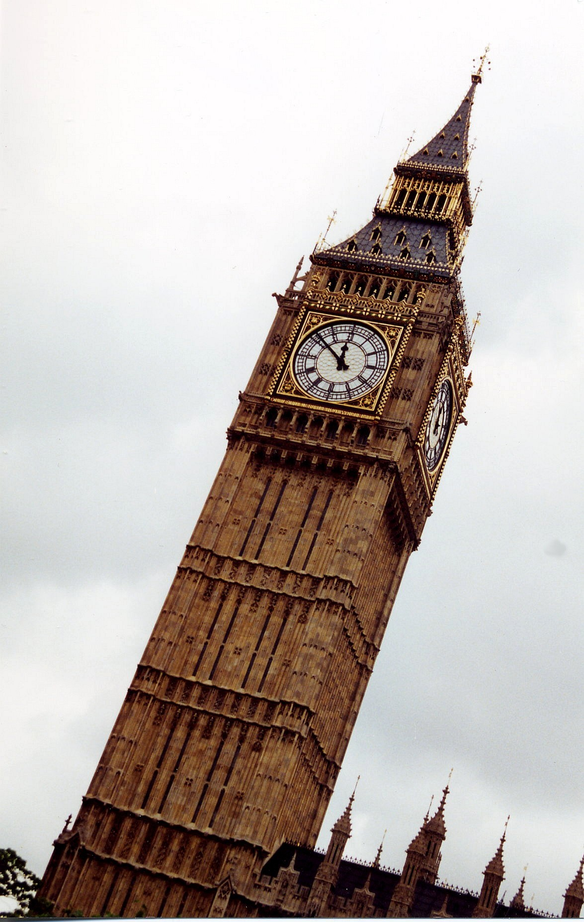 Digitally Enhanced and Special-Effects ImagesLondon Clock Tower Drawing