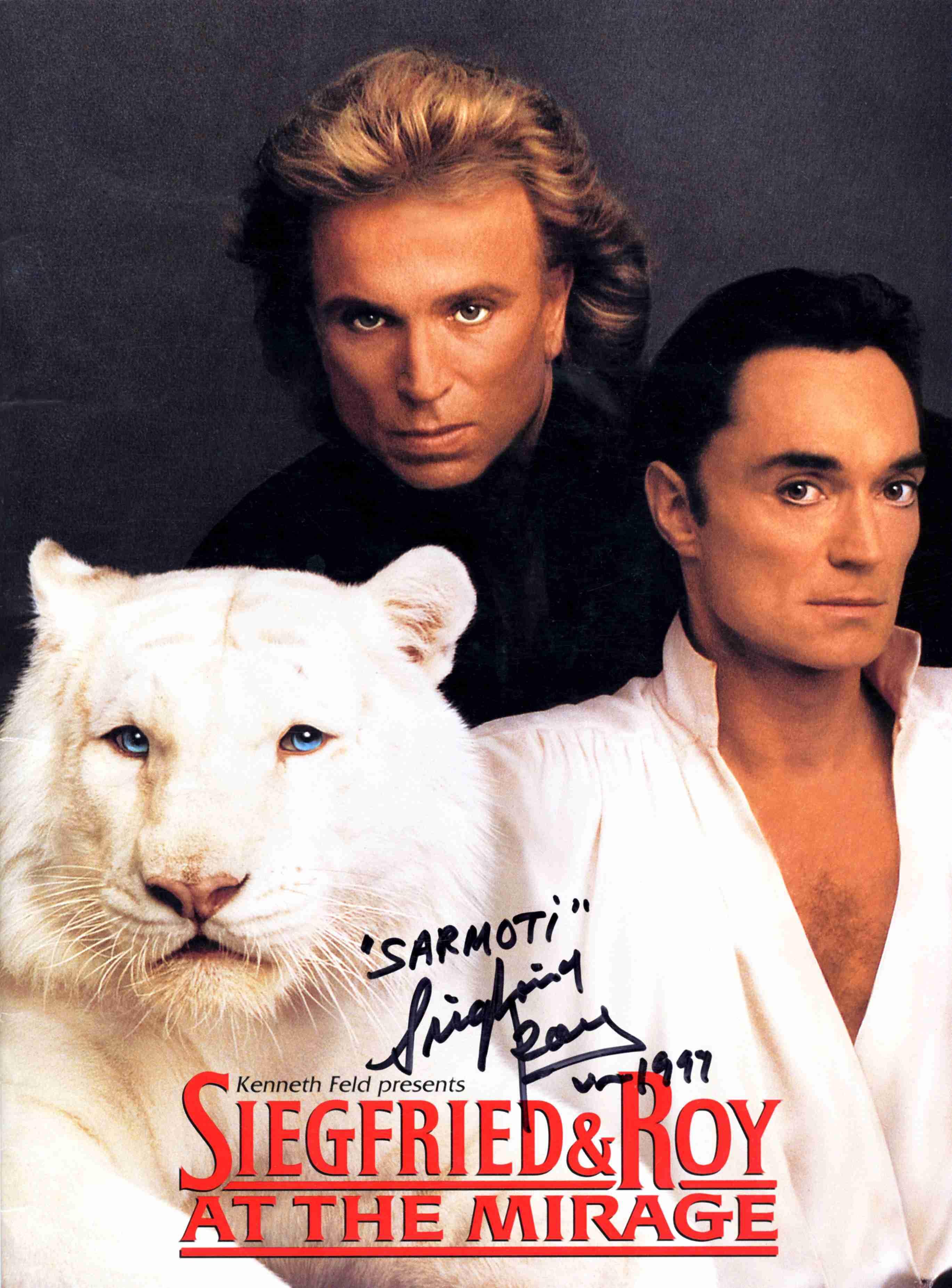 Siegfried and Roy - Beautiful Photos